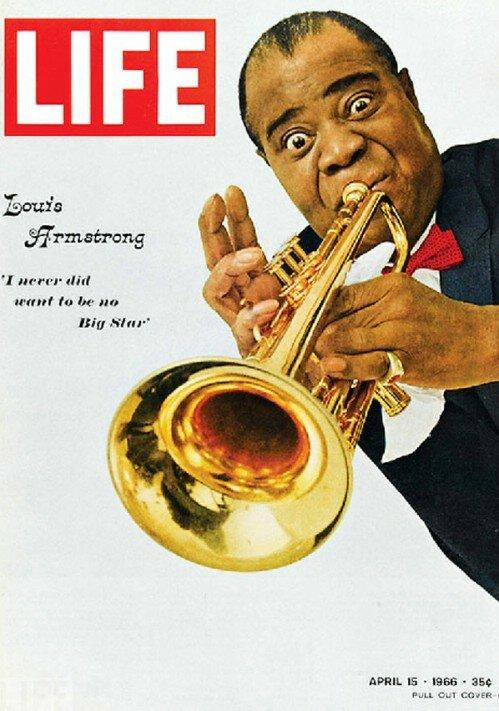 Louis Armstrong - April 16, 1966