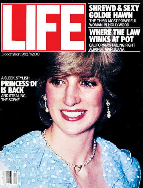 December 1982 Princess Diana