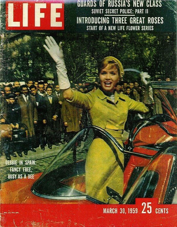 Life Magazine, March 30, 1959 - Debbie Reynolds