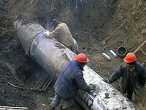 Строители повредили магистральный водовод в районе «Зари». В городе, в конце концов, есть хозяин?