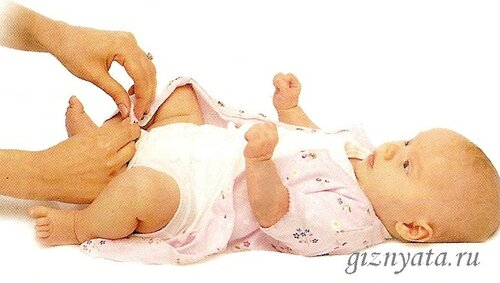 ожеваем младенца