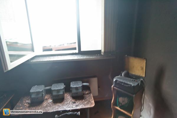 Пожар в детском садике №7