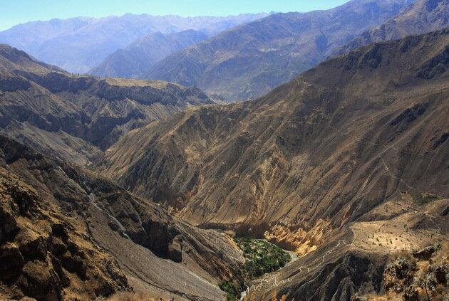 Каньон Колка. Перу