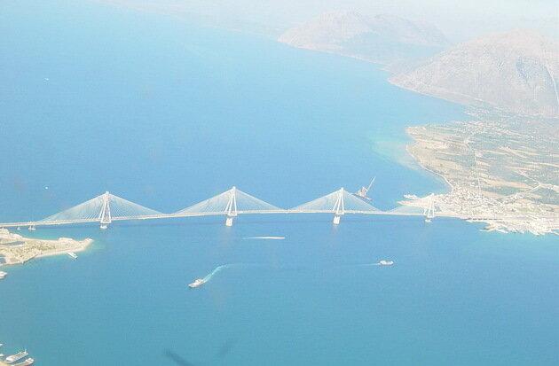 Мост Рио-Антирио. Греция