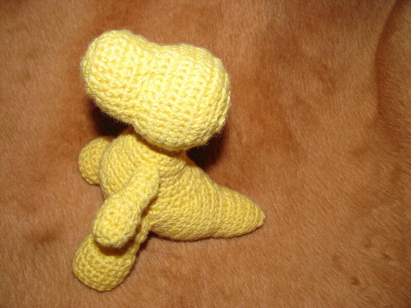 дракончик вязаный крючком Nettitoys вязание для женщин спицами и