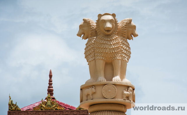 Cтупа Дхармараджика