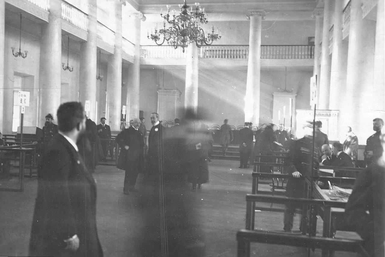 20 марта 1906. Выборы выборщиков в Первую Государственную думу в Петербургском государственном университете