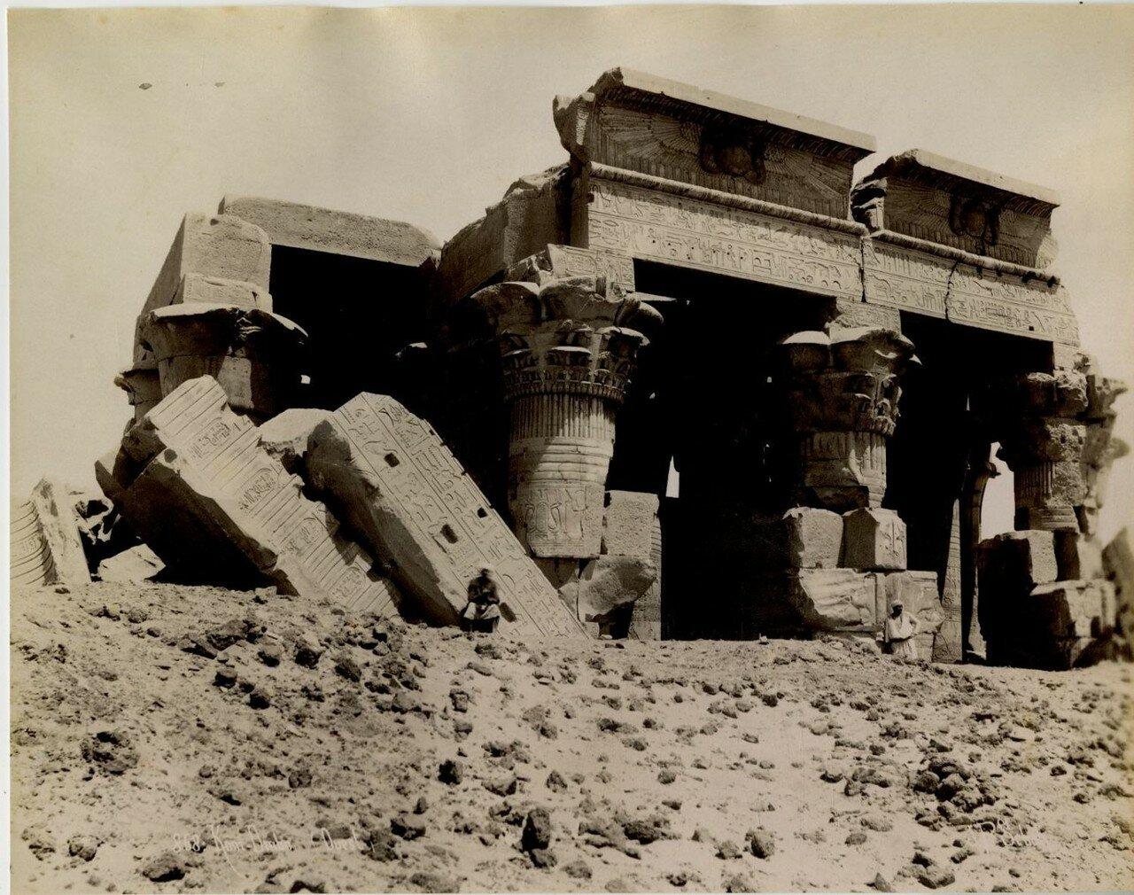 Храм Себека и Гора.1880-е
