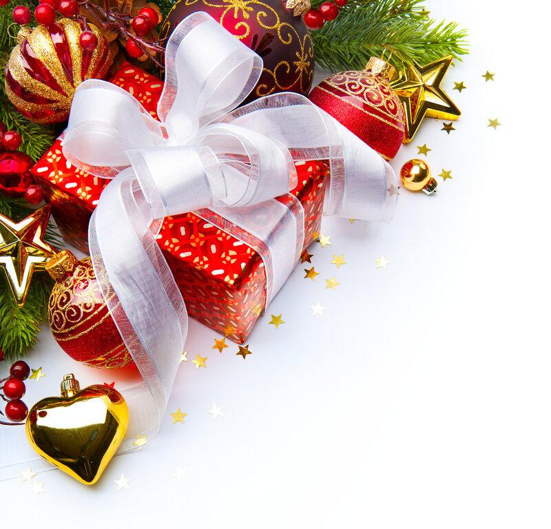 Новогодние обои и фоны