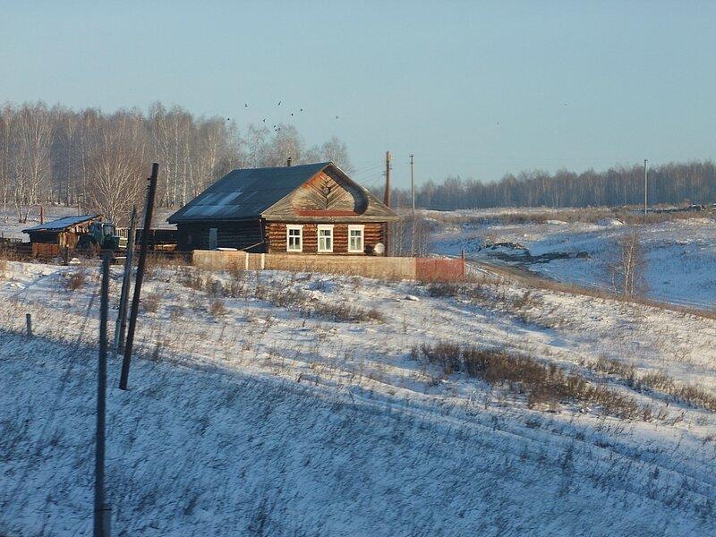 Южный Урал, из окна поезда.