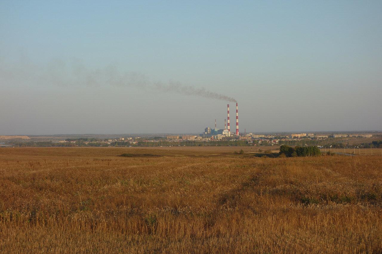 Новомичуринск и Рязанская ГРЭС