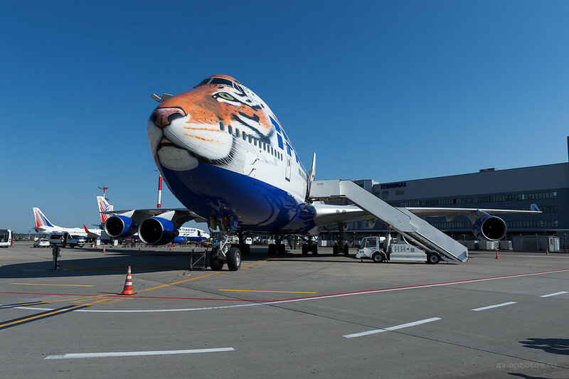 Boeing 747-412 (EI-XLN) Трансаэро D701331