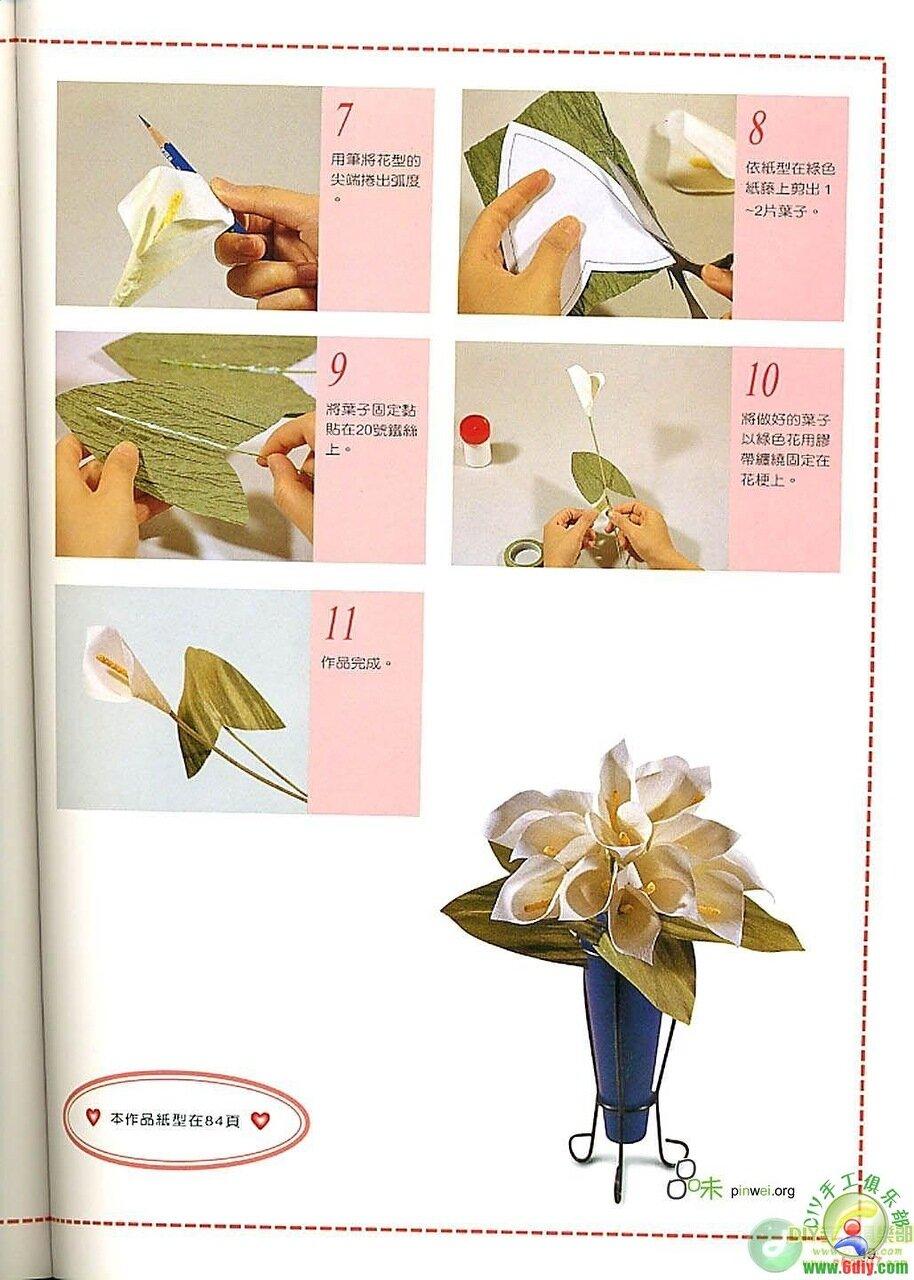 Fancy paper decoration DIY