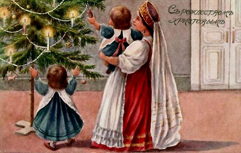 Рождественские открытки. традиции. Теги. культура. Категория записи