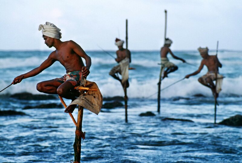 Steve McCurry - Stilt Fishermen, Sri Lanka 1995.jpg