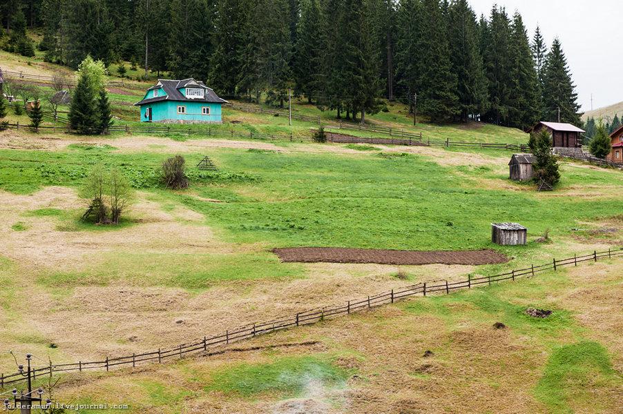 карпатские деревни
