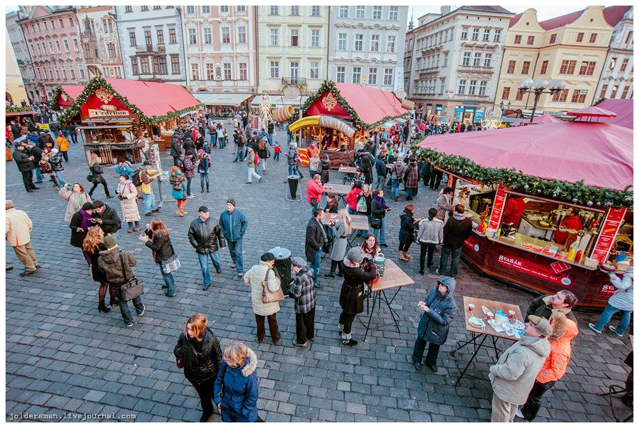 новогодний рынок на староместкой площади