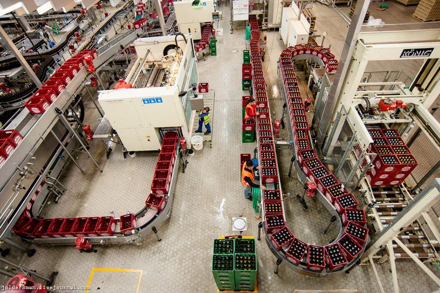 миллионы декалитров пива в час