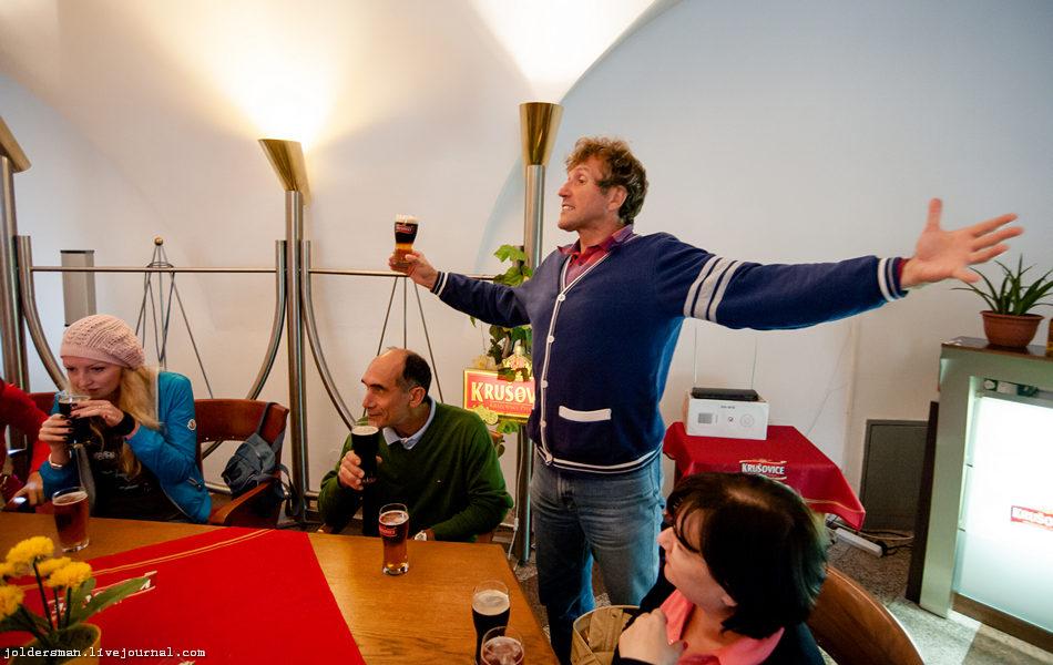рассказ экскурсовода о чешском пиве