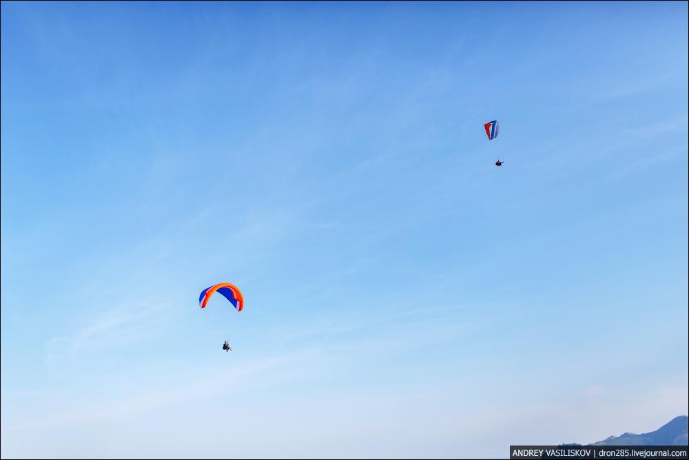 гора Клементьева полеты