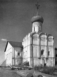 Церковь Введения Спасо-Прилуцкого монастыря в Вологде, 1540-e гг.
