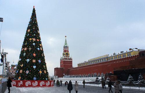 """Фото """"Елка на Красной площади"""", автор """"Natalia Yasnaya"""""""
