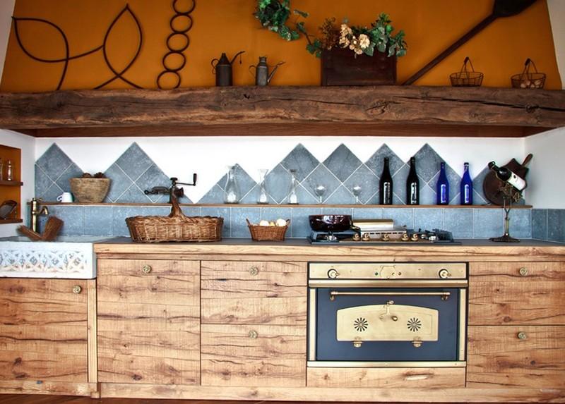 20 самых красивых кухонь из натурального дерева (21 фото)