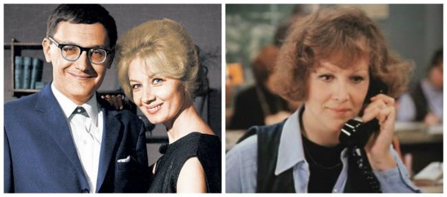 Владимир, женой которого была известная актриса Алла Демидова (слева), описал всценарии собственную