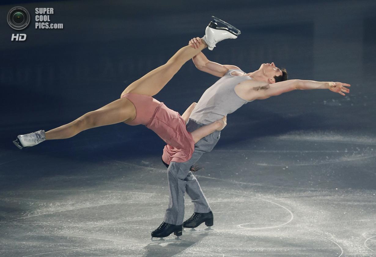 Япония. Фукуока. 8 декабря. Тесса Вертью и Скотт Моир из Канады в Финале Гран-при по фигурному к