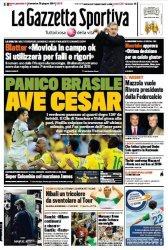 Журнал La Gazzetta dello Sport (29 Giugno 2014)