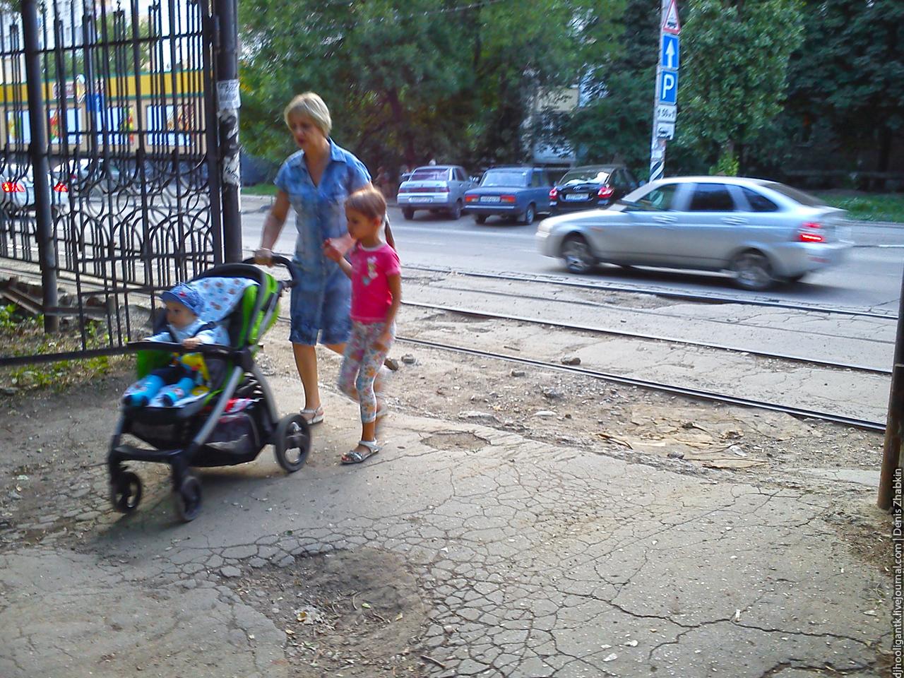 Тротуары в Саратове