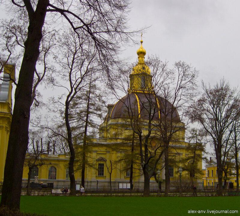 Петропавловская крепость. Великокняжеская усыпальница.