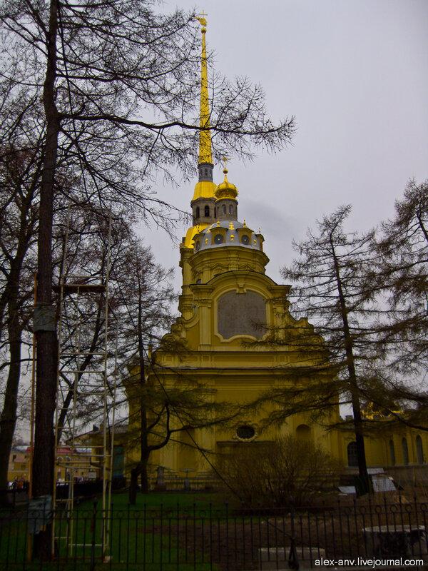 Петропавловская крепость. Петропавловский собор.