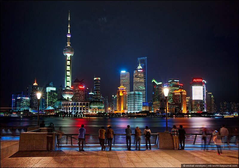 Это Шанхай