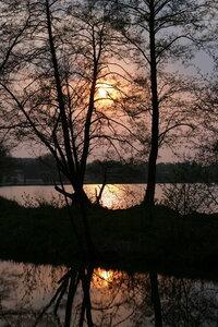 Закат солнца над Яновским Ставом