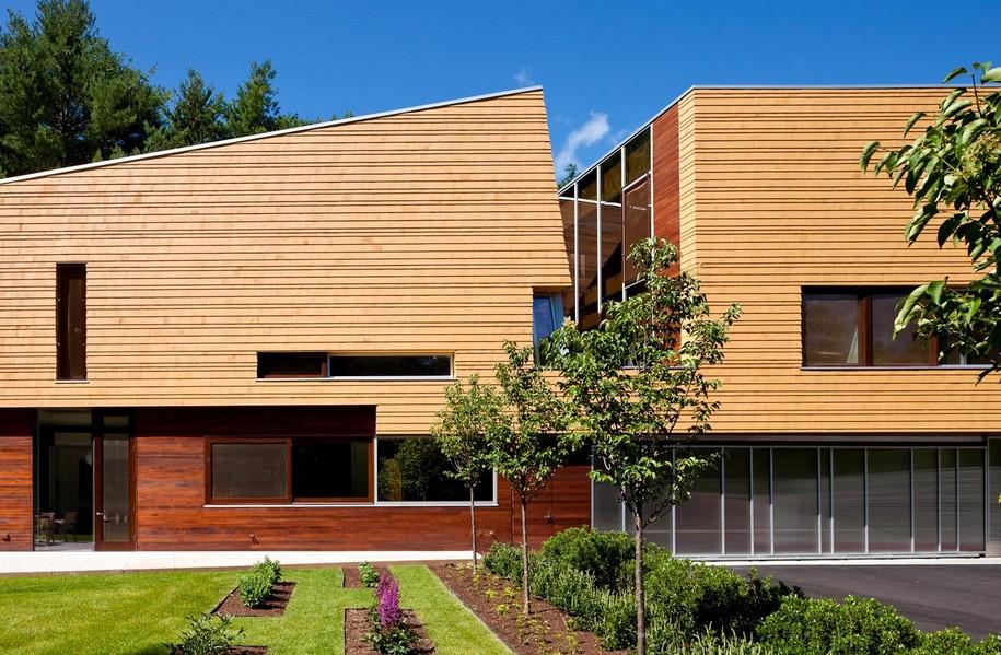 Яркий дизайн Page Road House в Массачусетсе, США