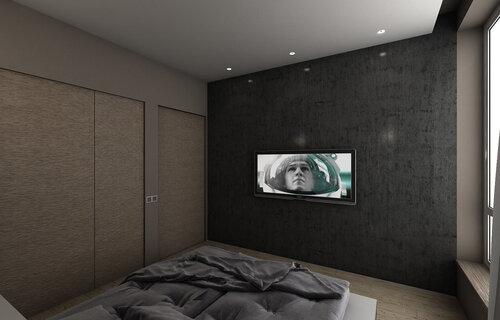 VIZ_NewAero_BedRoom_Vray0003.  квартира, Париж, Франция