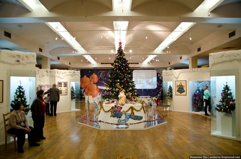 Выставки в москве январь