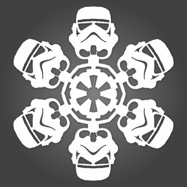 Делаем снежинки в стиле Звездных Войн