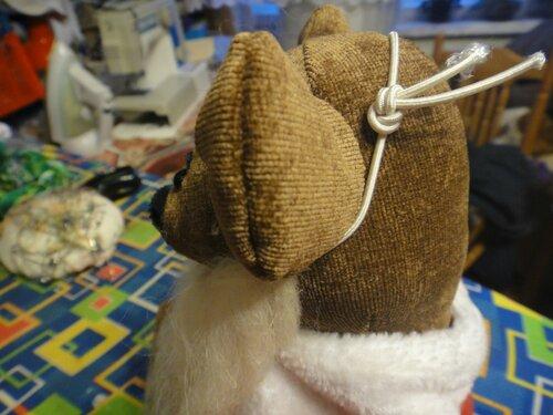 Борода для мишки-Санты
