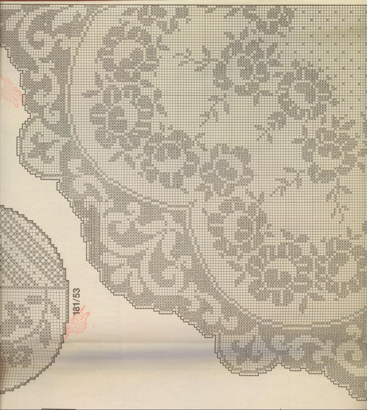 Филейное вязание скатертей 37