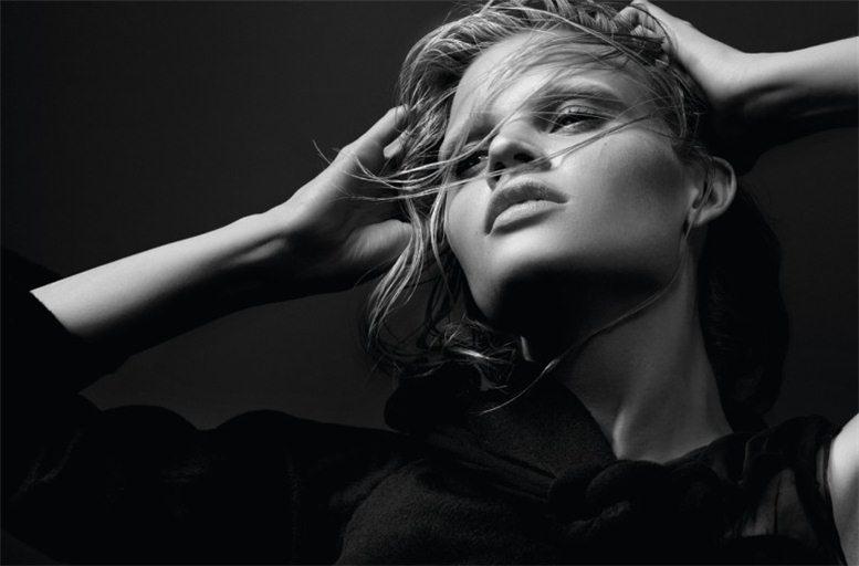 модель Лара Стоун / Lara Stone, фотограф Craig McDean