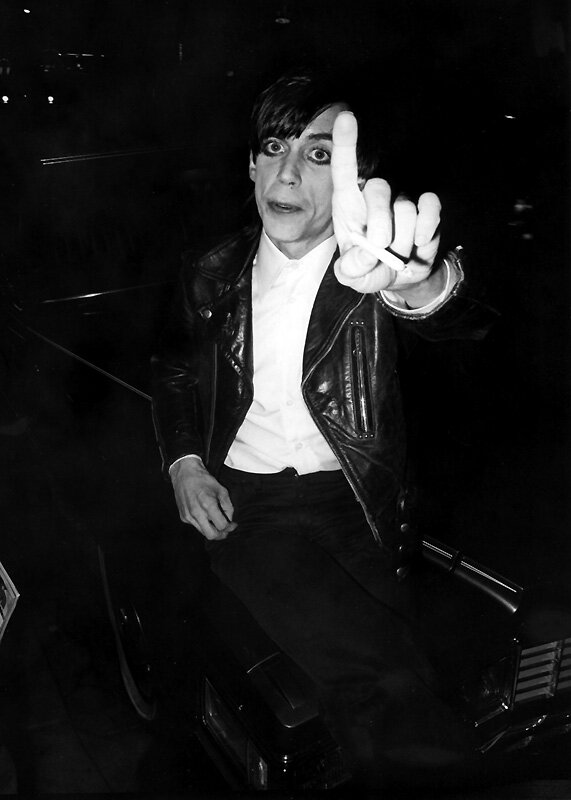 """Iggy Pop """"No Photos"""" 1978."""