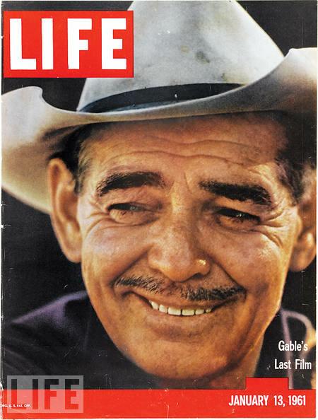 Clarke Gable - January 13, 1961