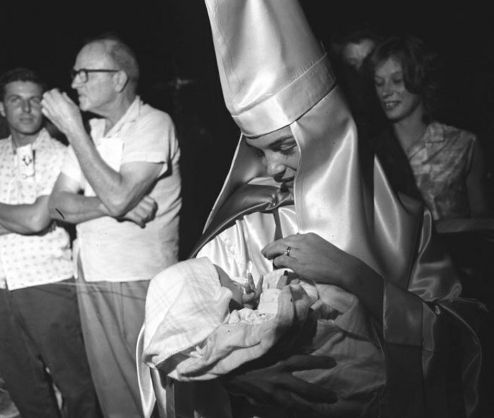 Klu Klux Klan meeting, Beaufort, South Carolina, 1965