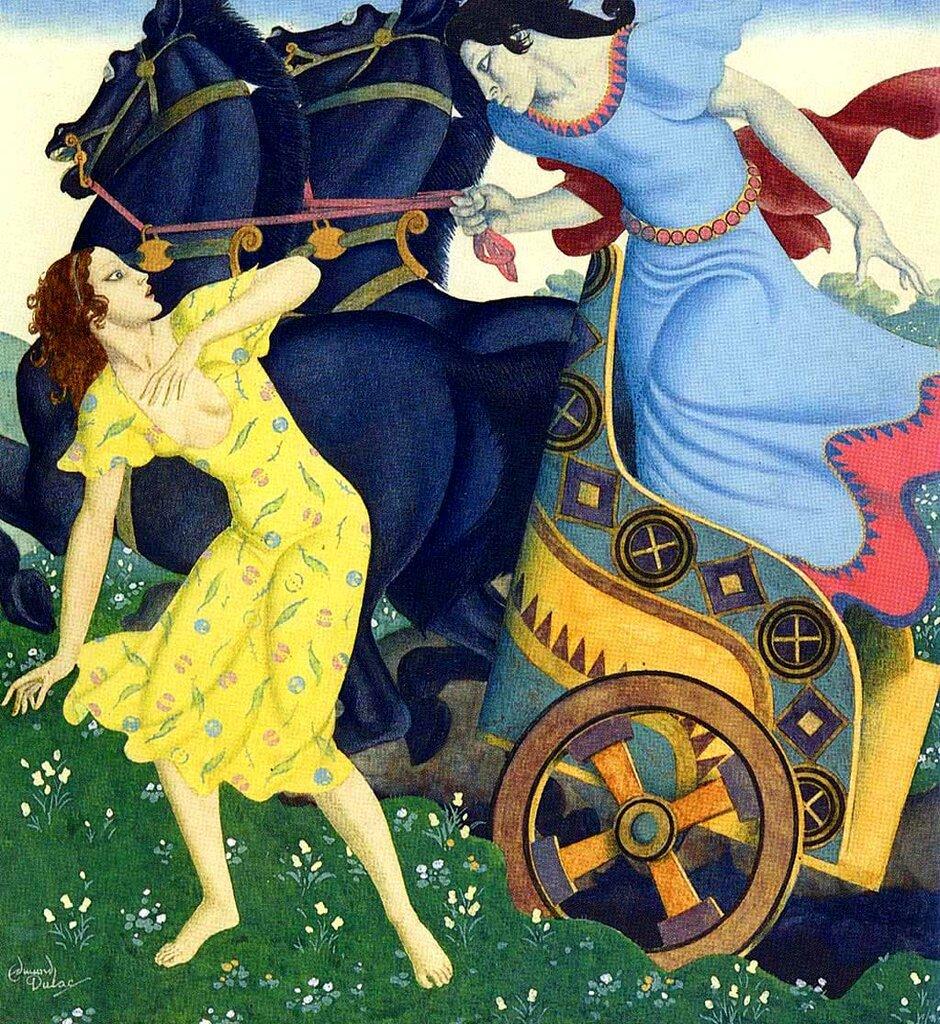Edmund Dulac - Pluto and Persephone