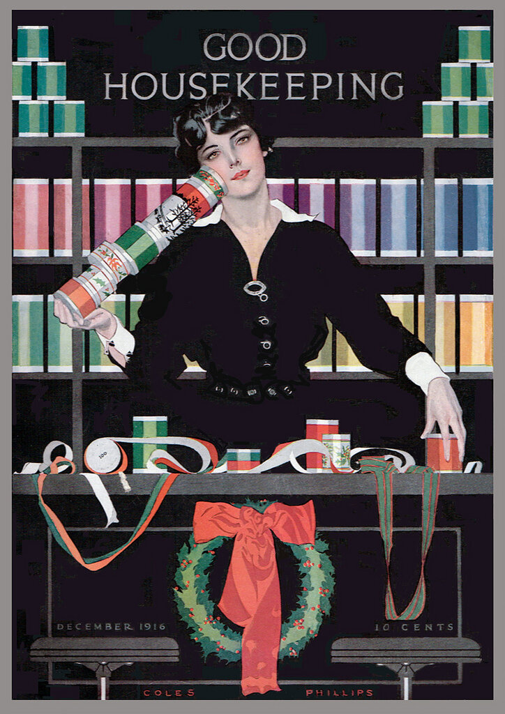 1916 cover by Coles Phillips.