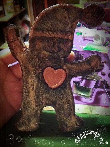 Ёлка-мочалка и влюблённый Коричный человечек :)