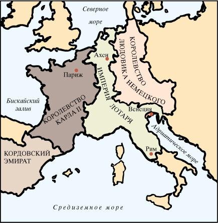 Империи Европы