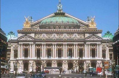 Фасад Гранд-опера